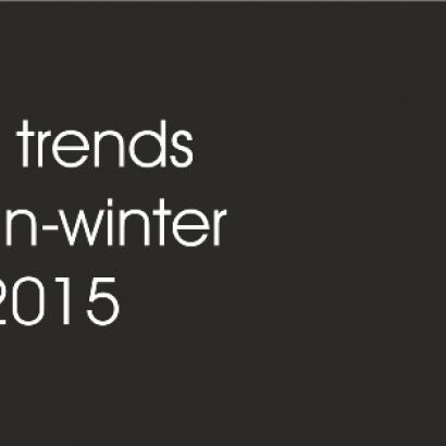 TOP 10 TRENDS FOR AUTOMN-WINTER 2014/2015